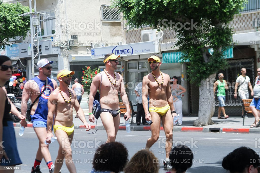 Pride Parade in Tel Aviv 2013 royalty-free stock photo