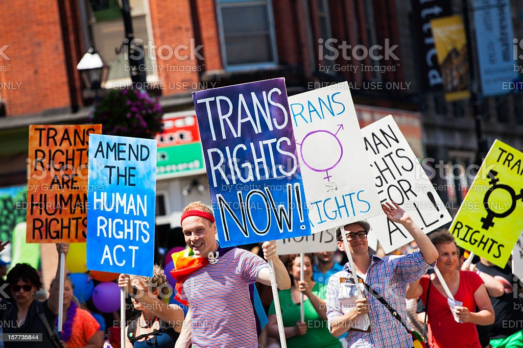 Pride Parade stock photo