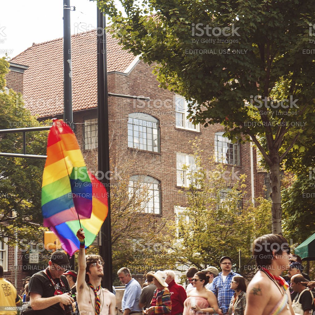 Pride Parade stock photo