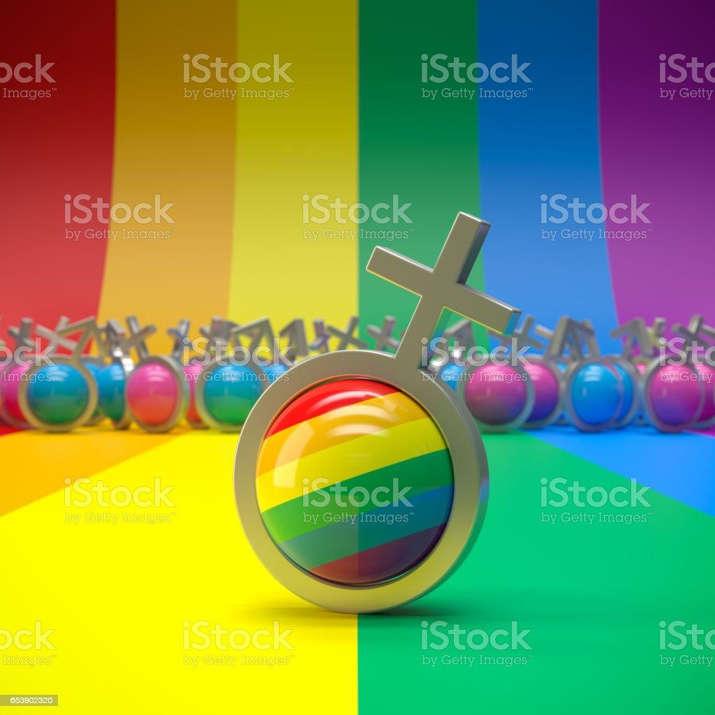 LGBT Pride stock photo