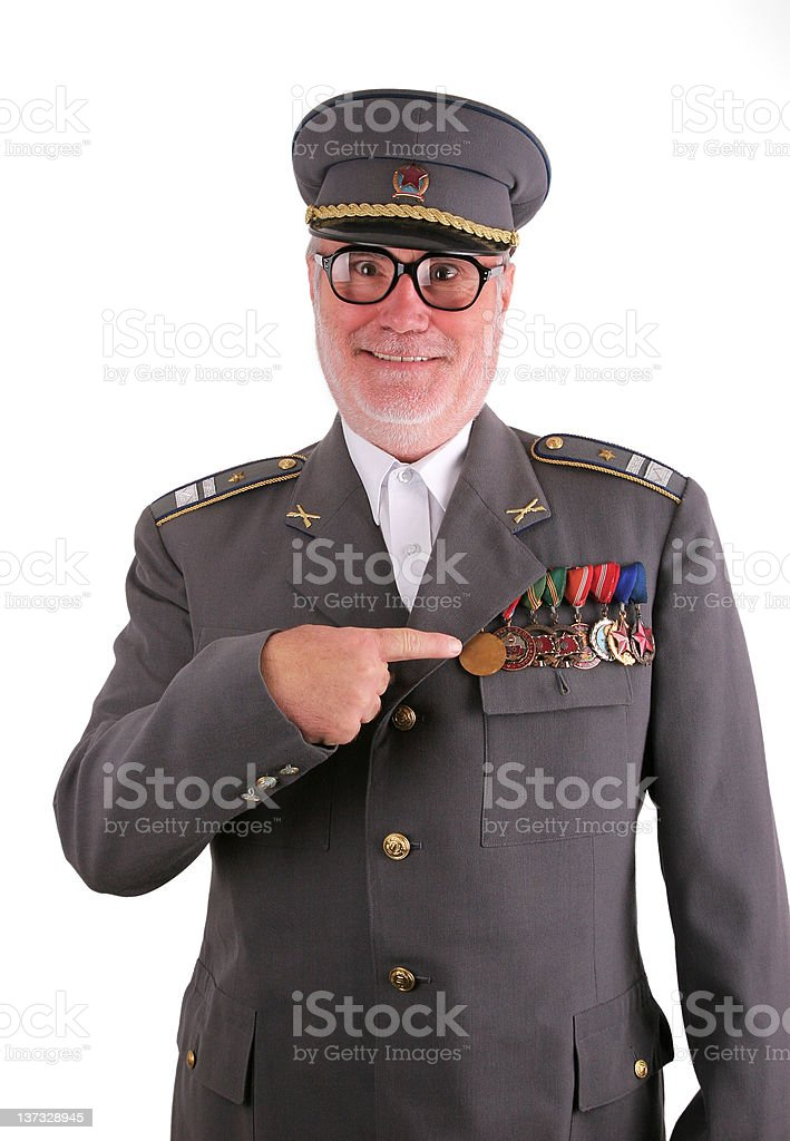 Pride soldier royalty-free stock photo