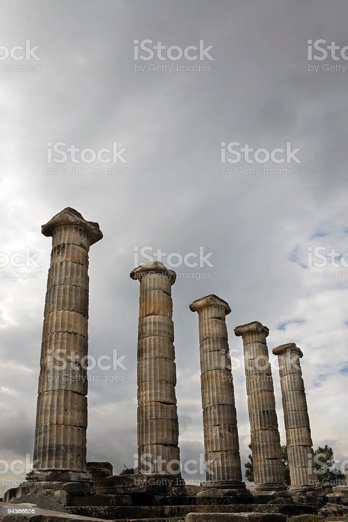 Priene, Aegean Turkey royalty-free stock photo