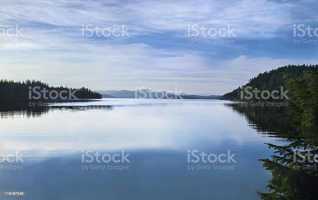 Priest Lake royalty-free stock photo