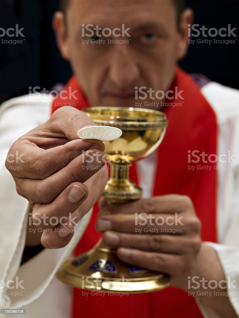 Priest royalty-free stock photo