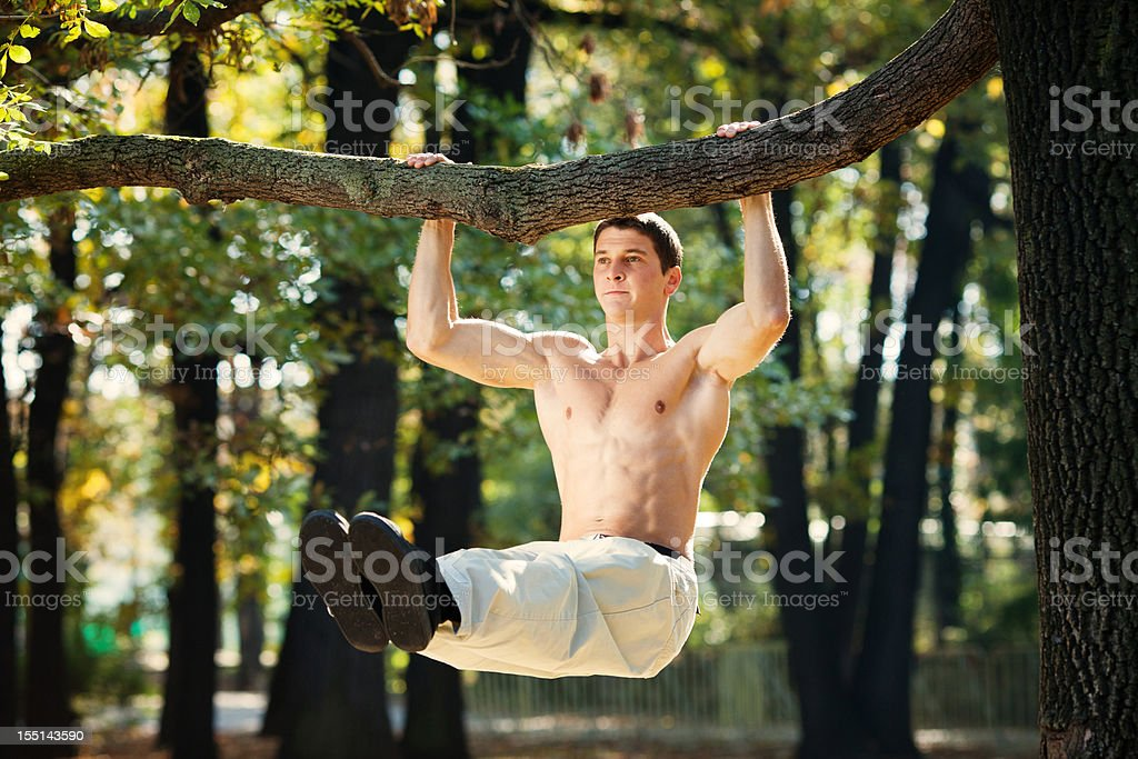 primal gym royalty-free stock photo