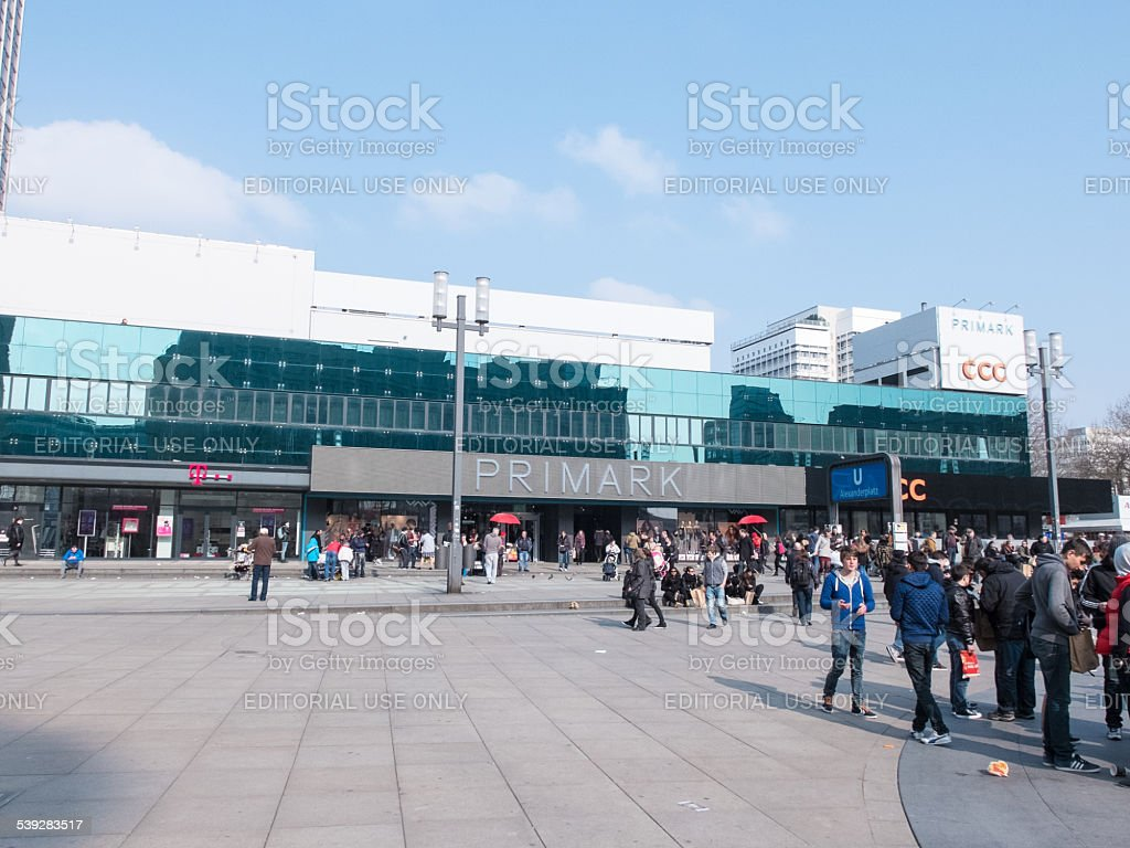 primark at alexanderplatz in berlin royalty free stock photo - Primark Online Bewerbung