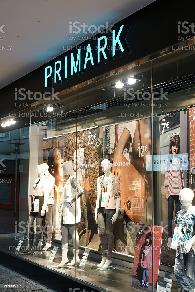 Primark in Hanover stock photo