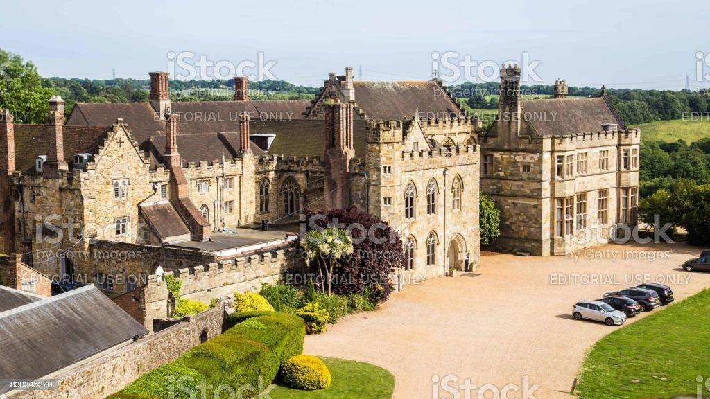 Battle, Sussex, UK - June, 03, 2017: Primary abbey school in Batte, Sussex, UK stock photo