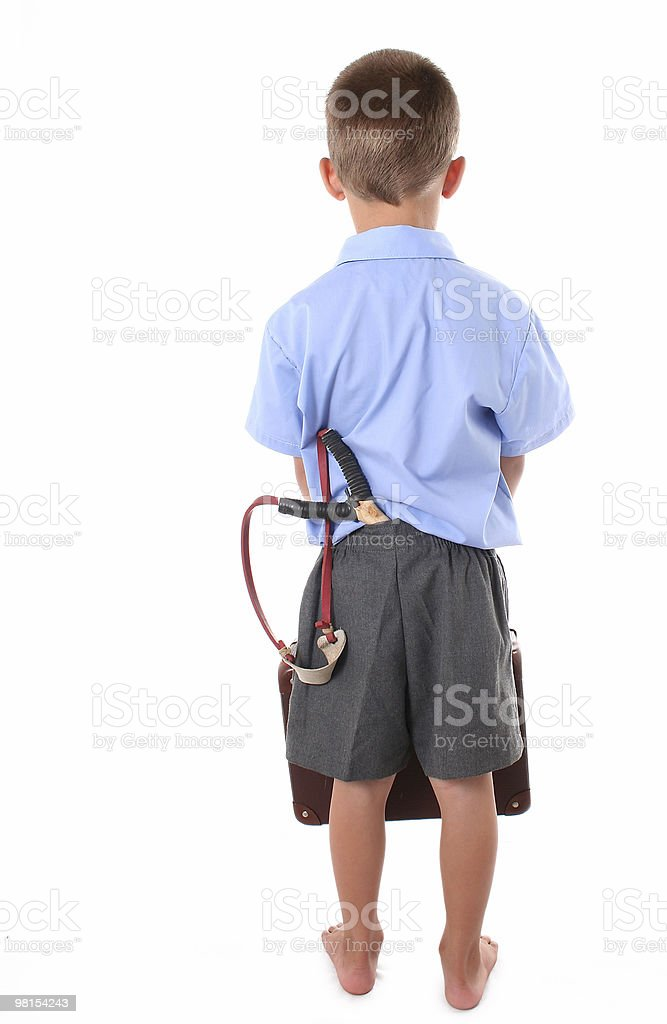 Primary school boy royalty-free stock photo