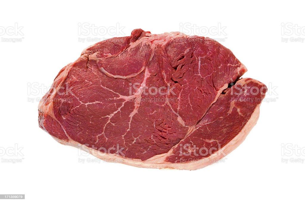 Prime Boneless Hip Sirloin Steak stock photo
