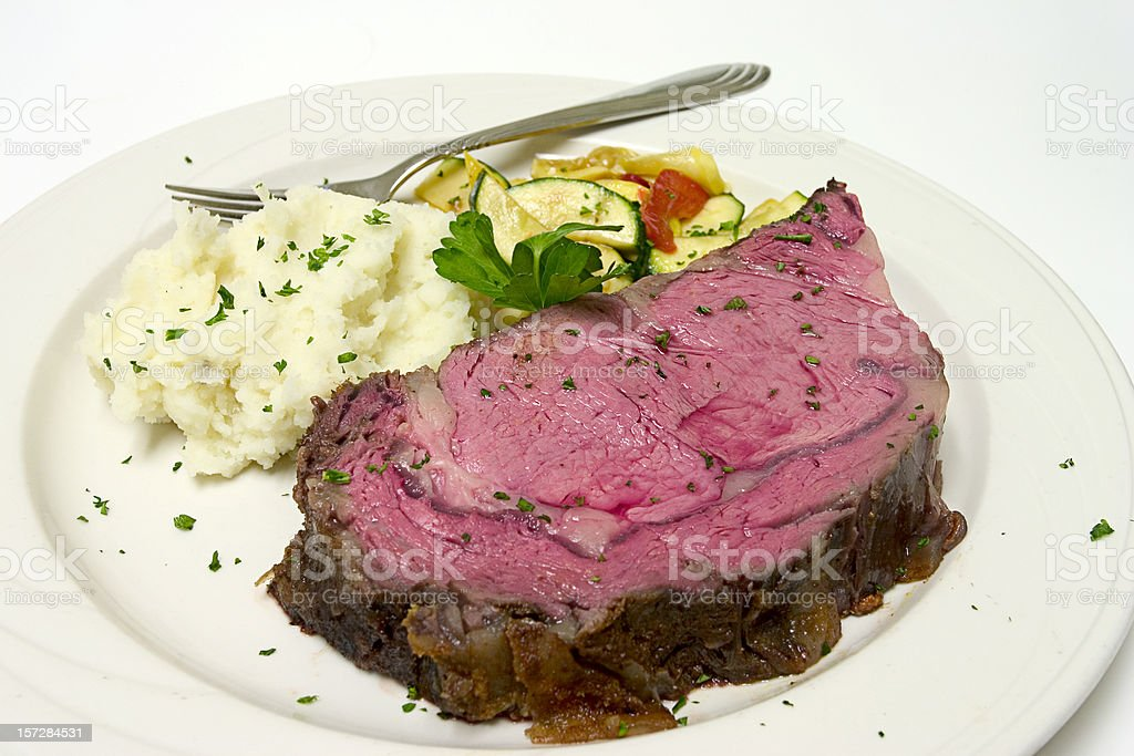 Prime Rib royalty-free stock photo