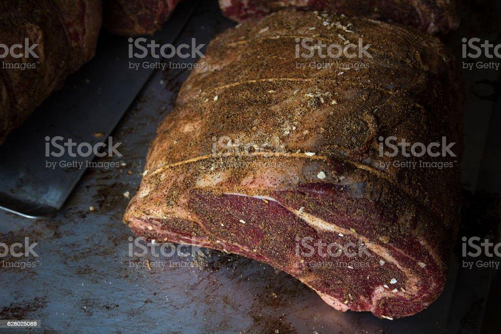Prime Rib Roast stock photo