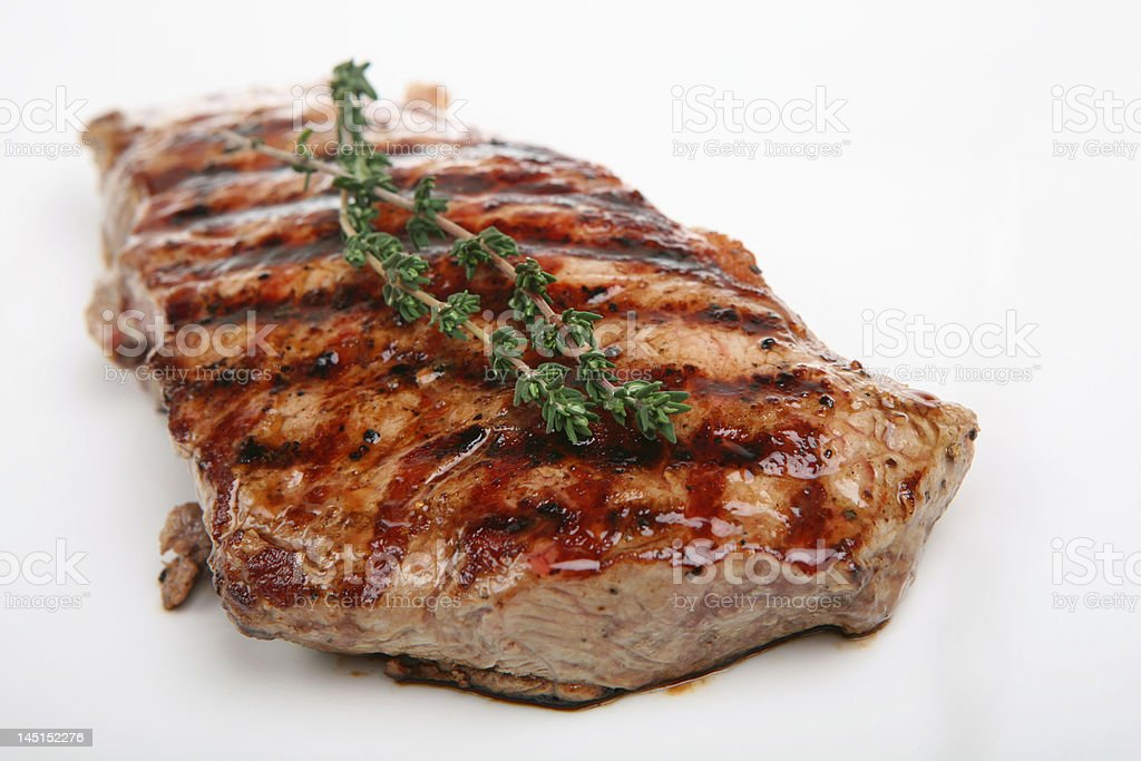 Prime Sirloin royalty-free stock photo