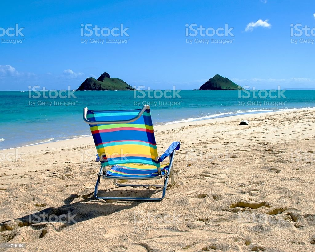 Prime View of Tropical Islands stock photo