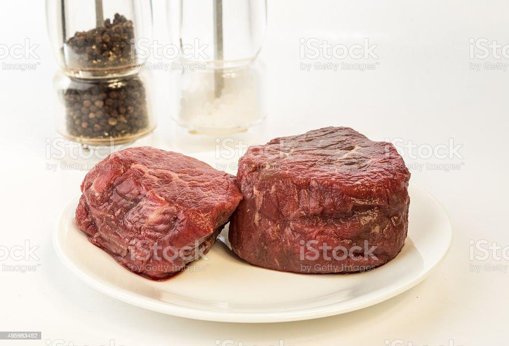 Prime-rated Filet Mignon stock photo
