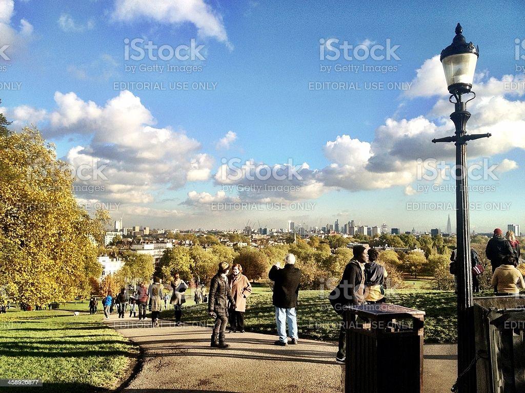 Primrose Hill, London royalty-free stock photo
