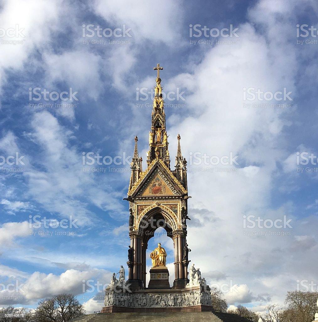Prince Albert Memorial stock photo