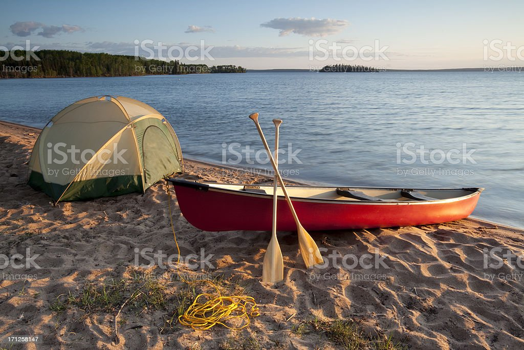 Prince Albert National Park stock photo