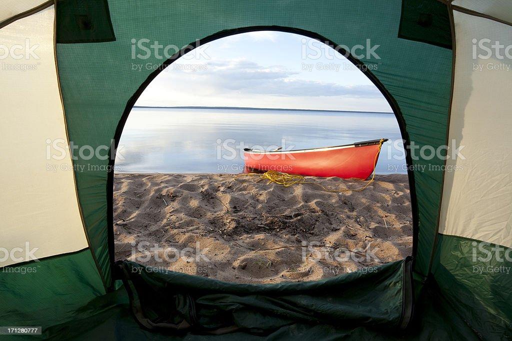 Prince Albert National Park, Saskatchewan, Canada stock photo