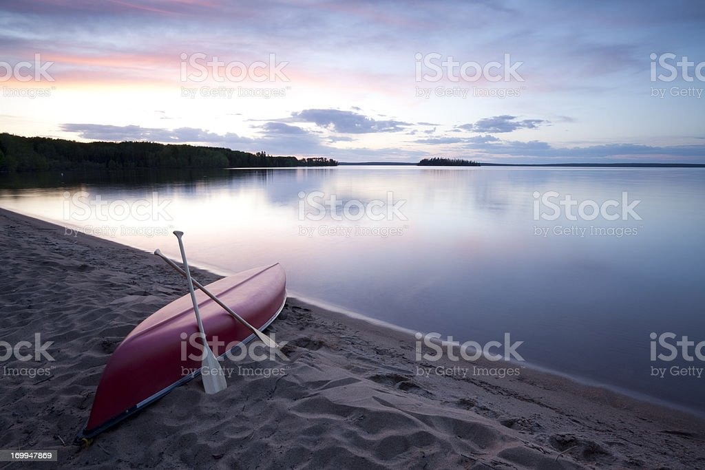 Prince Albert National Park Saskatchewan stock photo
