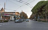 Prince Amedeo Avenue in Rimini, Italy