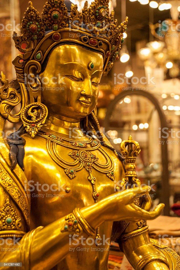 Prince Buddha stock photo