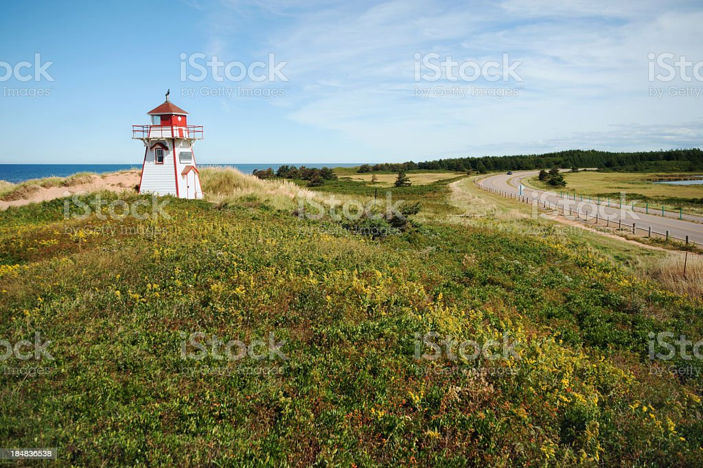 Prince Edward Island National Park. stock photo