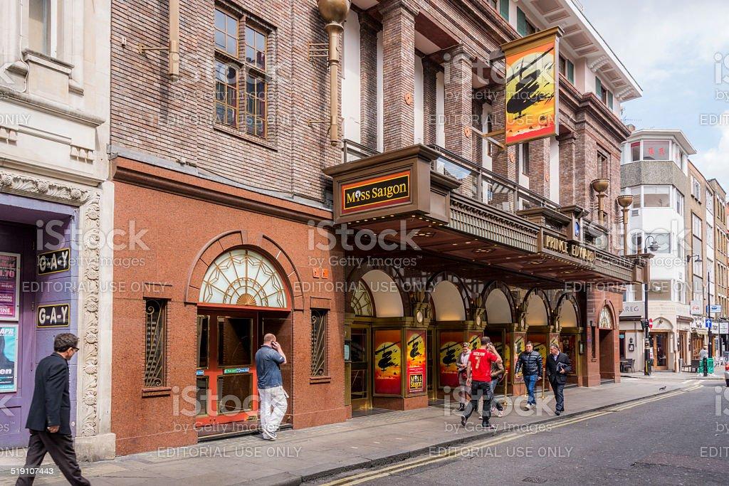 Prince Edward Theatre - London stock photo