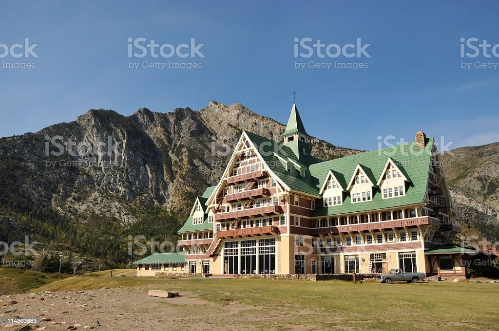 Prince of Wales Hotel stock photo