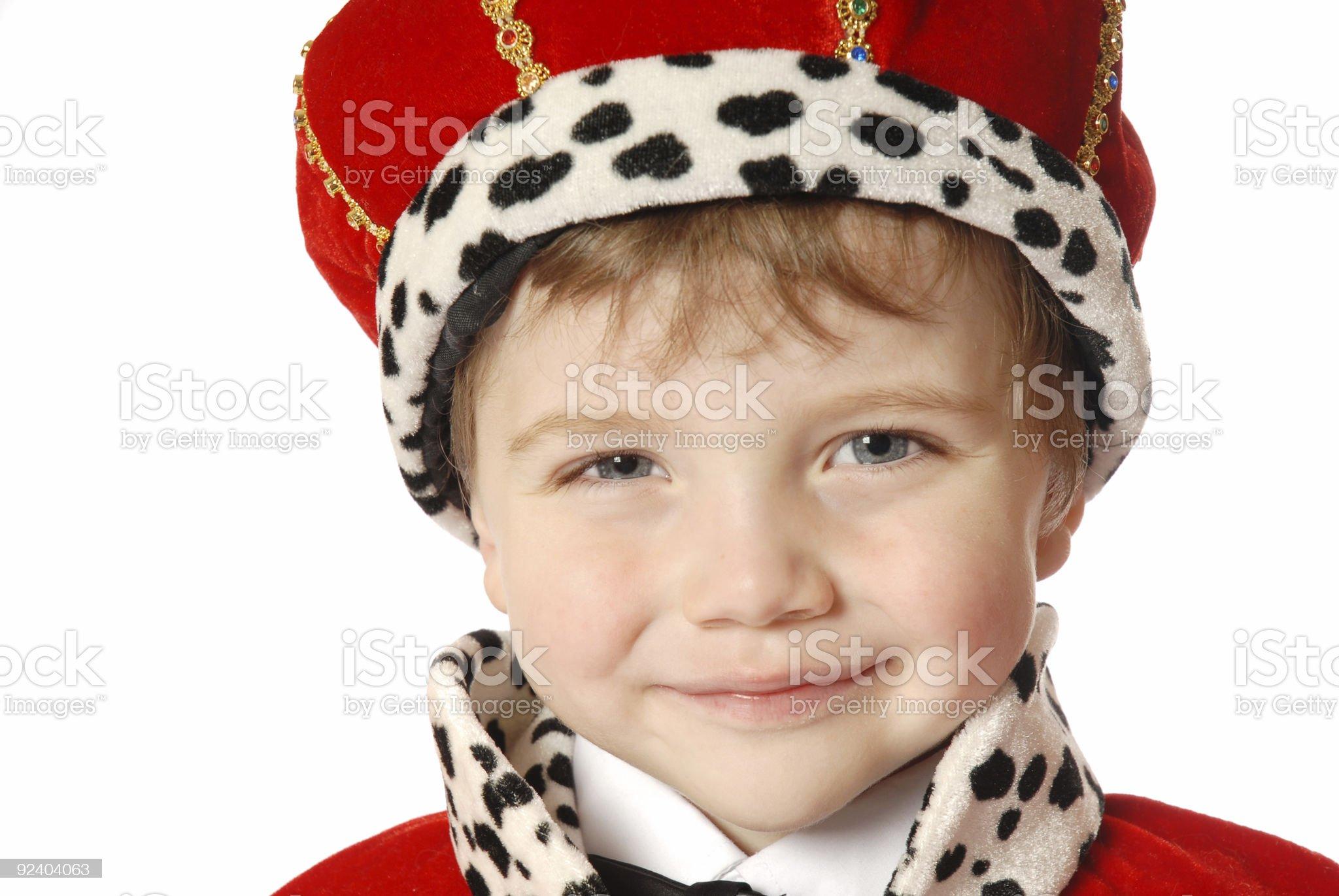 Prince royalty-free stock photo