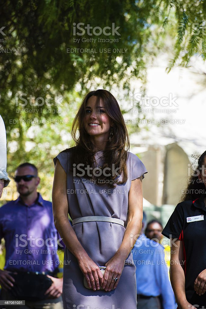 Prince William and Catherine Duchess of Cambridge stock photo