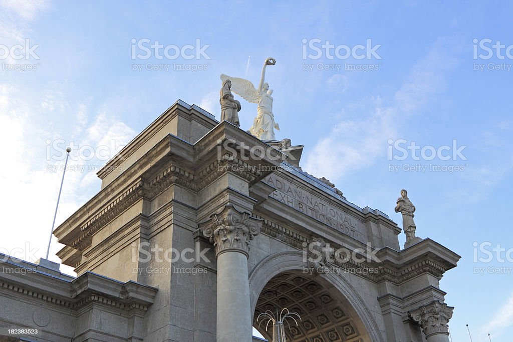 Princes Gate At CNE stock photo