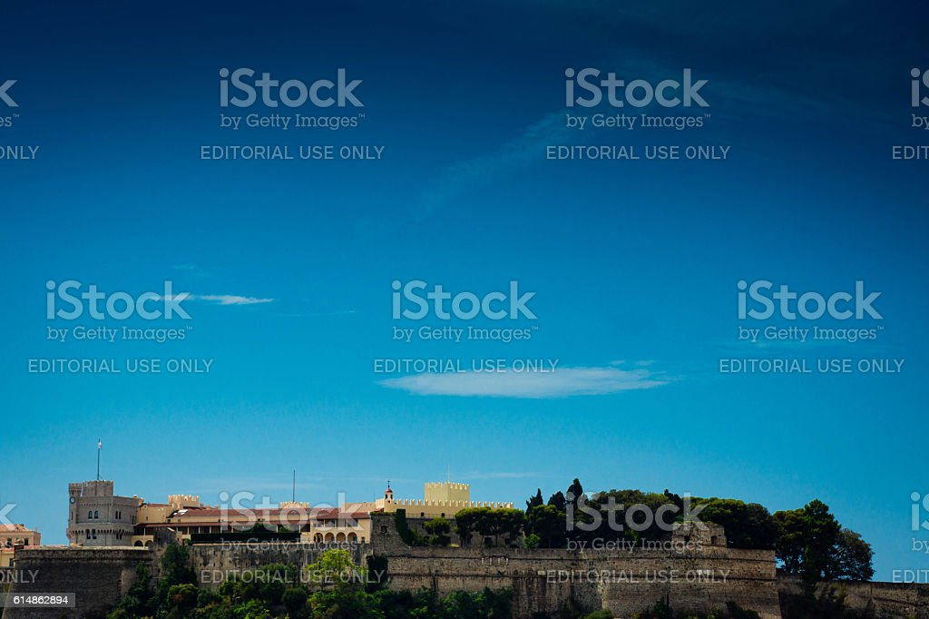 Prince's Palace Monaco stock photo