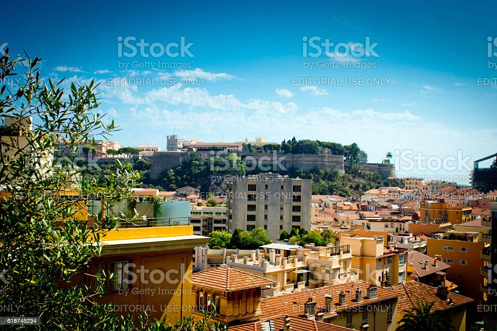 Prince's Palace Monaco stock photo