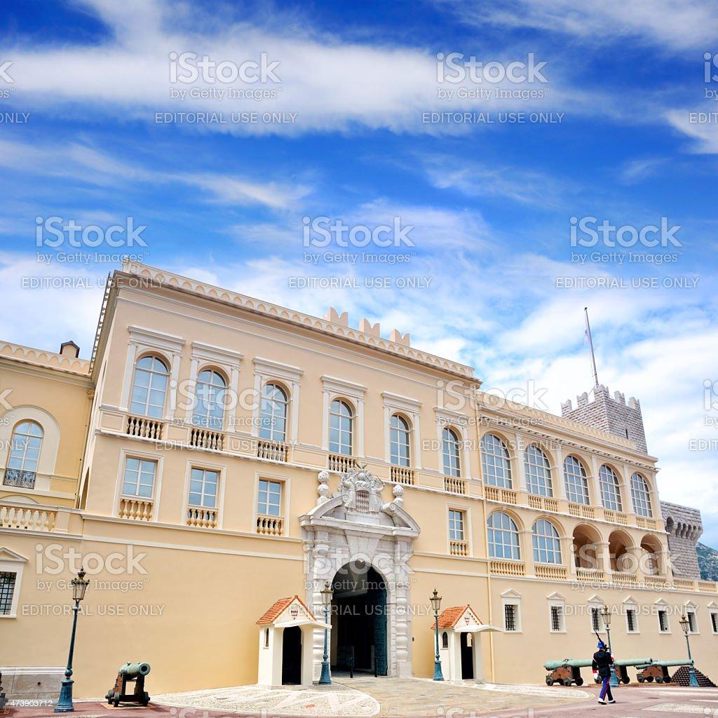 Prince's Palace of Monaco stock photo