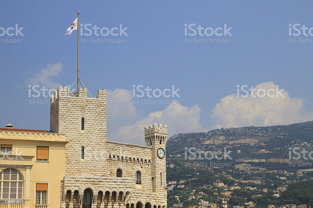 Prince's Palace royalty-free stock photo