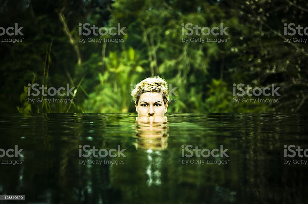 Princess Crocodile stock photo