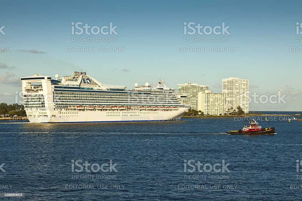 Princess Cruise Lines royalty-free stock photo