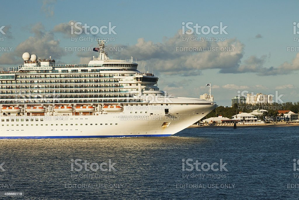 Princess Cruise Lines royalty-free stock photo