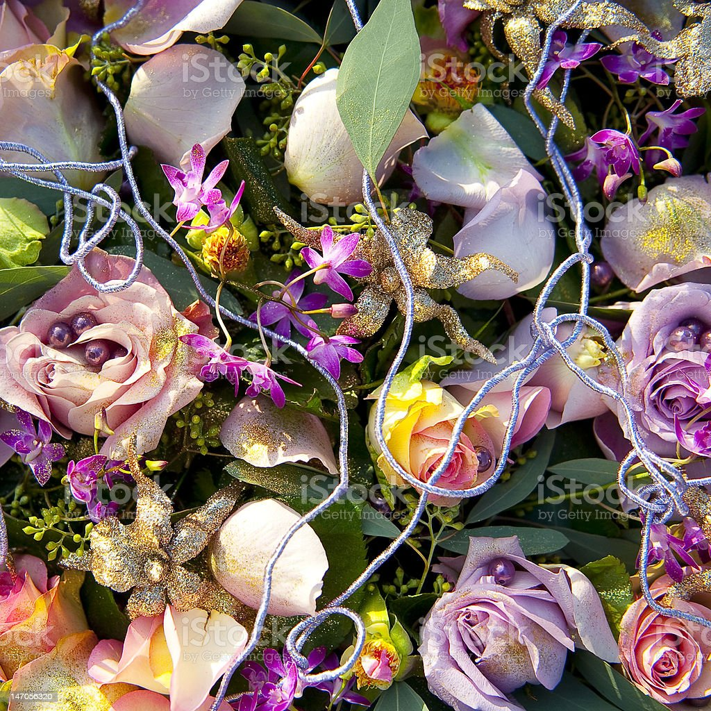 Princess flower bed royalty-free stock photo