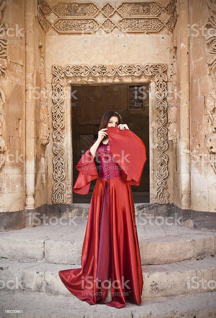 Princess of Ottoman Empire stock photo