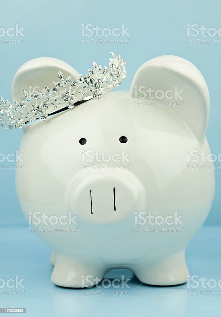 Princess Piggy royalty-free stock photo