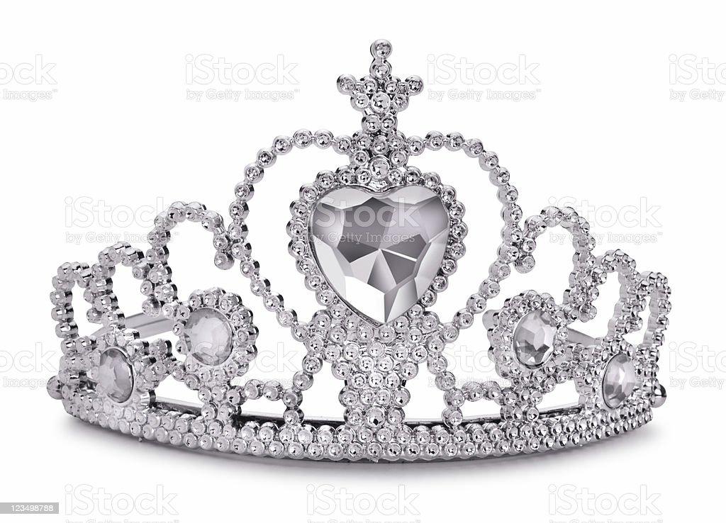 Princess Tiara Isolated on White stock photo