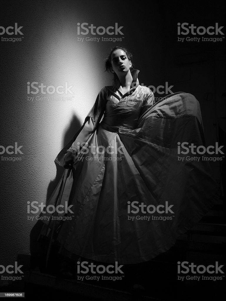 Princess Warrior royalty-free stock photo