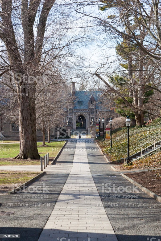 Princeton University Campus stock photo