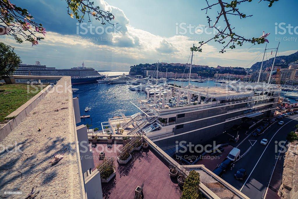 Principality of Monaco: Monte Carlo stock photo
