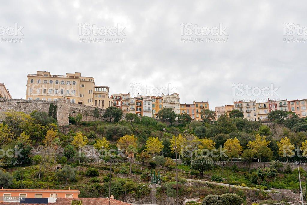 Principality of Monaco stock photo