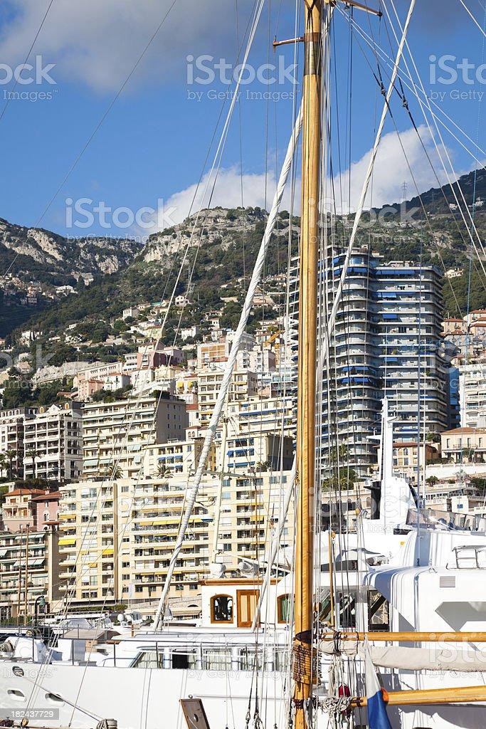 Principauté de Monaco Monte-Carlo royalty-free stock photo