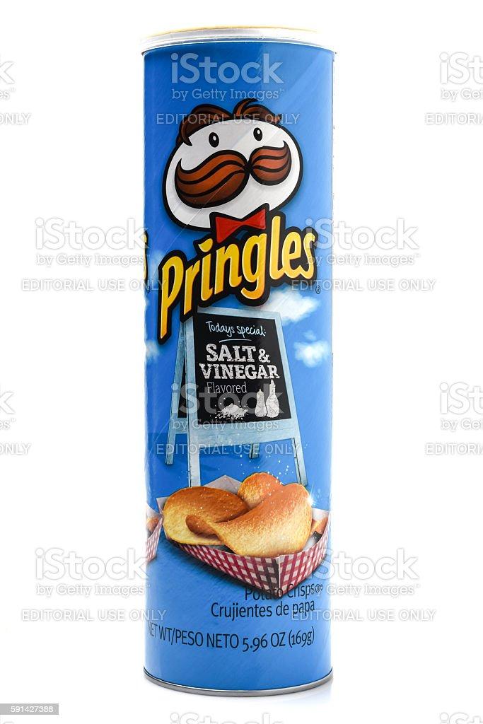 Pringles stock photo