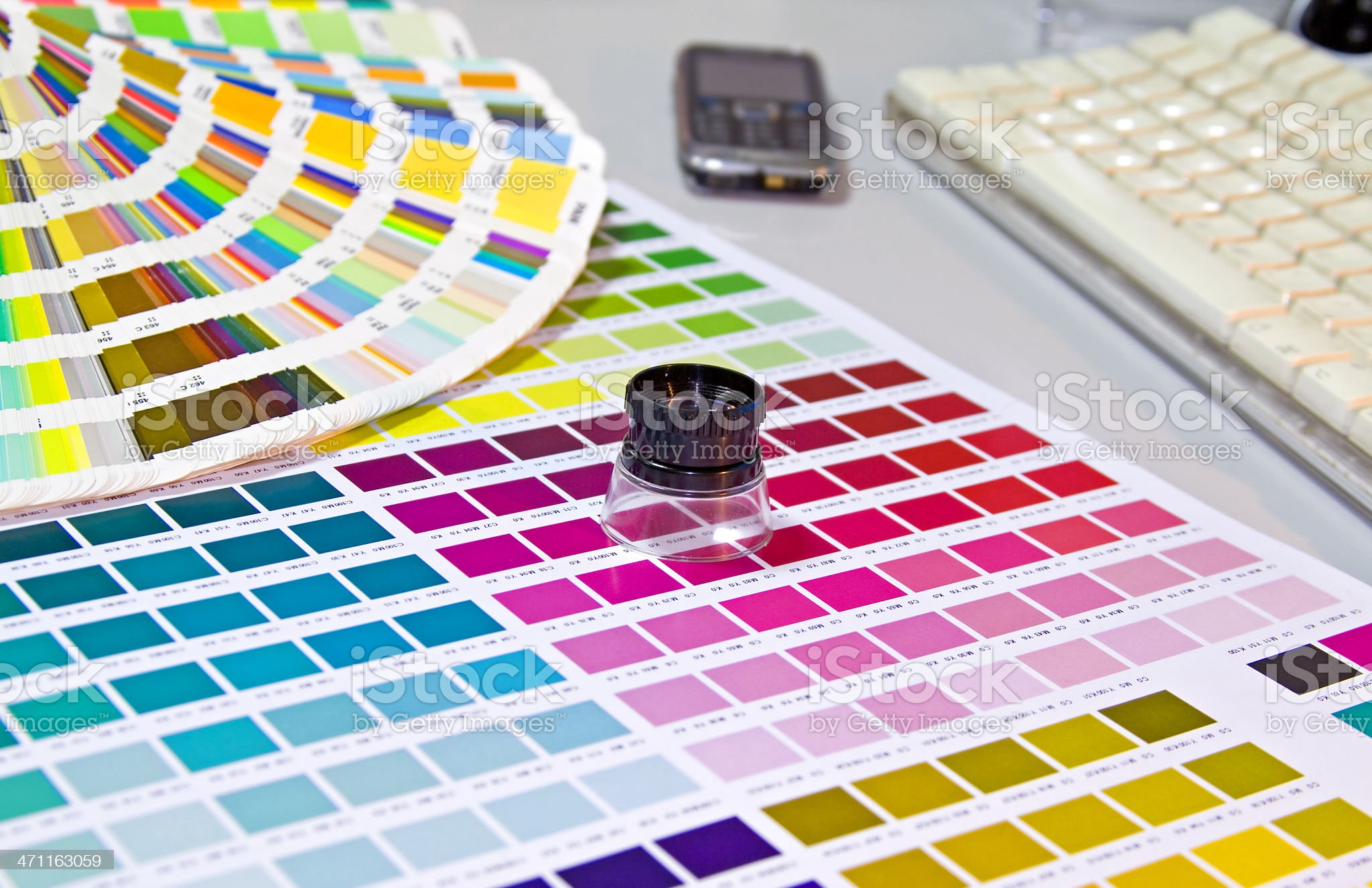 print accessories royalty-free stock photo